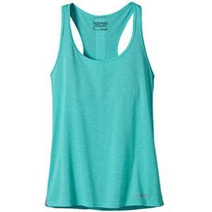 Patagonia Nine Trails Tank Top Howling Turquoise